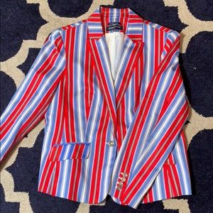 Jones New York striped Blazer